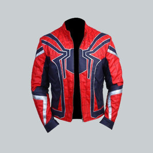 AVENGERS ENDGAME SPIDER-MAN JACKET - Wiseleather
