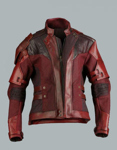 AVENGERS INFINITY WAR STAR LORD LEATHER JACKET - Wiseleather