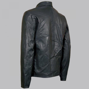 BIKER LAYER CAKE LEATHER JACKET - Wiseleather
