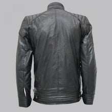 BOURNE LEGACY BLACK LEATHER JACKET