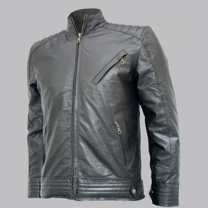 BOURNE LEGACY BLACK LEATHER JACKET - Wiseleather