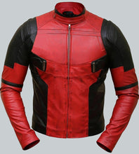 DEADPOOL RED LEATHER JACKET