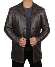 Dean Winchester Jacket Distressed Leather Coat