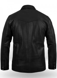 Superiority Men Leather Shirt - Wiseleather