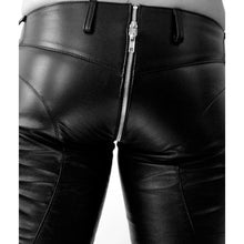 Mens Fashion Leather Pants