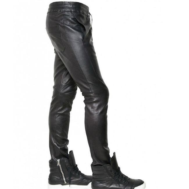 Flaming Appeal Leather Pants