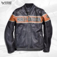 Harley Davidson Men's Victory Lane Leather Jacket