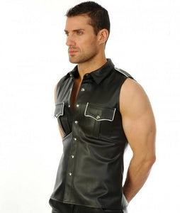 Dominion Leather Shirt - Wiseleather
