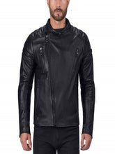 Men Cafe Premium Leather Jacket
