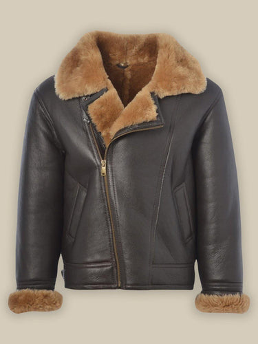 MEN B3 BOMBER SHEARLING JACKET