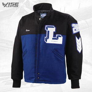 Pinnacle Varsity Jacket - Wiseleather