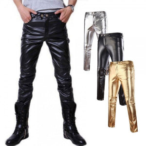 Splendor Recognition Leather Pants - Wiseleather