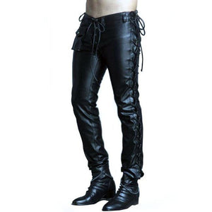 Chain Reaction Leather Pants - Wiseleather