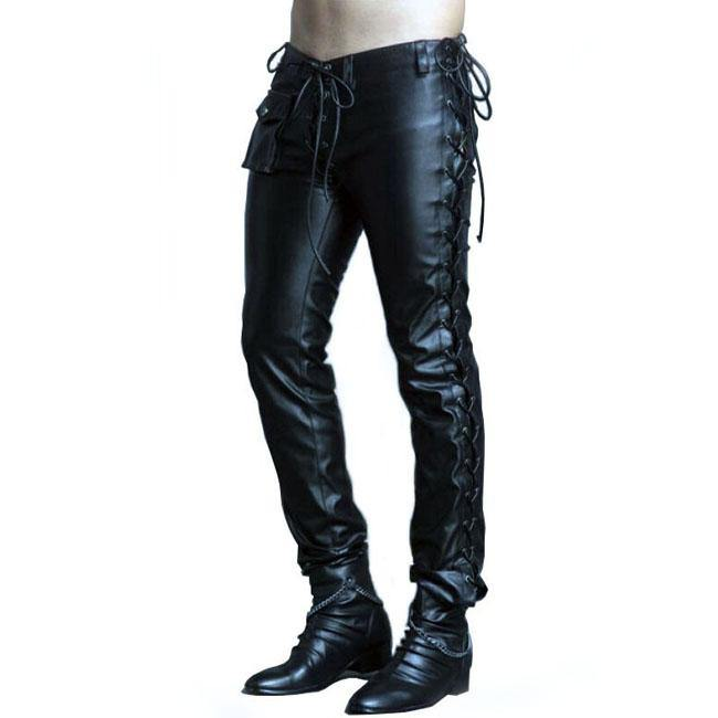 Chain Reaction Leather Pants