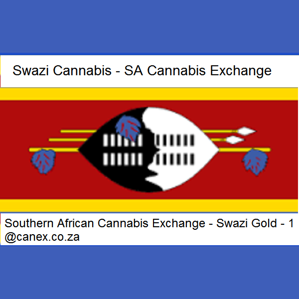 Swazi Gold Luxury (Sativa) - Subject to T&C we will assist you! e: 1@canex.co.za