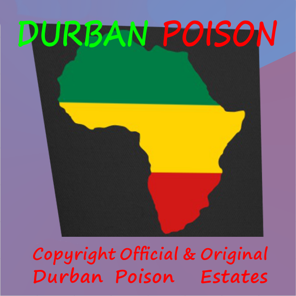 Durban=Apartheid' Good Riddance! - Luxury (Sativa) - Subject to T&C we will assist you! e: 1@canex.co.za