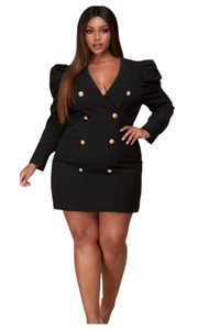 Boss Babe Blazer Dress