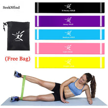 Load image into Gallery viewer, 5PCs/Set Resistance Bands Latex Elastic Bands