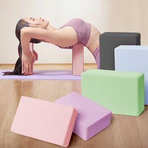 (Set Of 2 ) Pilates Yoga Blocks Cubes Bricks Home Workout