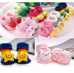 Babies Cartoon Cotton Socks  (0-1 Year)