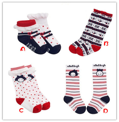 Four Pack Babies Cotton Socks (0-3 Years)