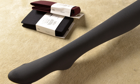 680 Denier Terry Shaper Opaque Tights - Malti Coloured