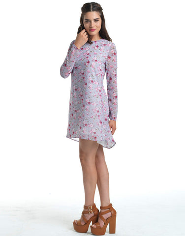 Wild Flower Child Shirt Dress
