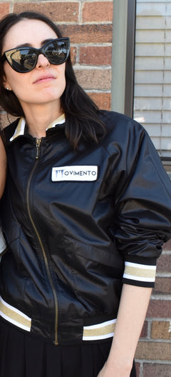 "The Formosa ""Blackout"" Bomber Jacket"