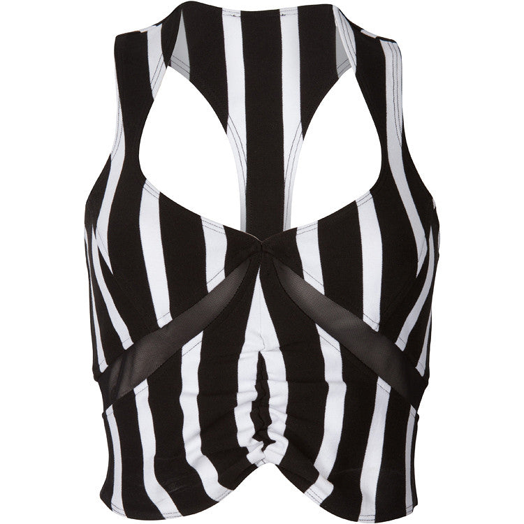 "The ""Black II White"" Bustier"