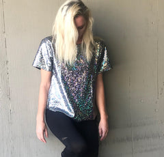 "The ""Stars Are Falling"" Reversible Night Tee"