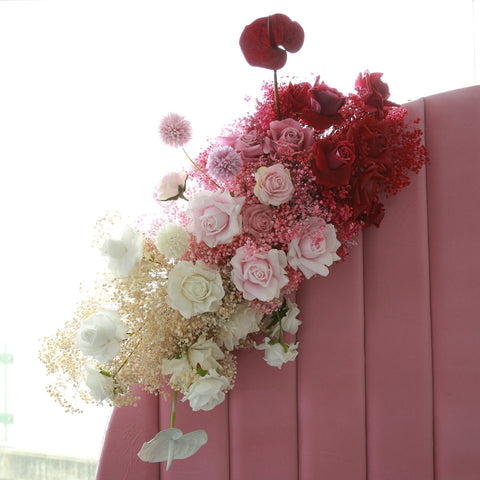 ombre-flowers-flower-arrangement-pink-white-dried-artificial-preserved