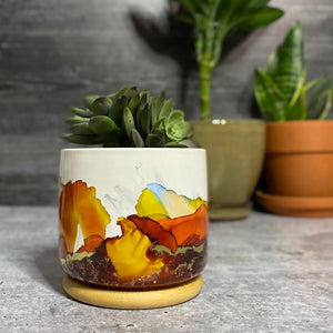 *SOLD* Second Summer succulent planter