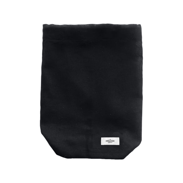 The Organic Company All Purpose Bag Large Gauze 100 Black