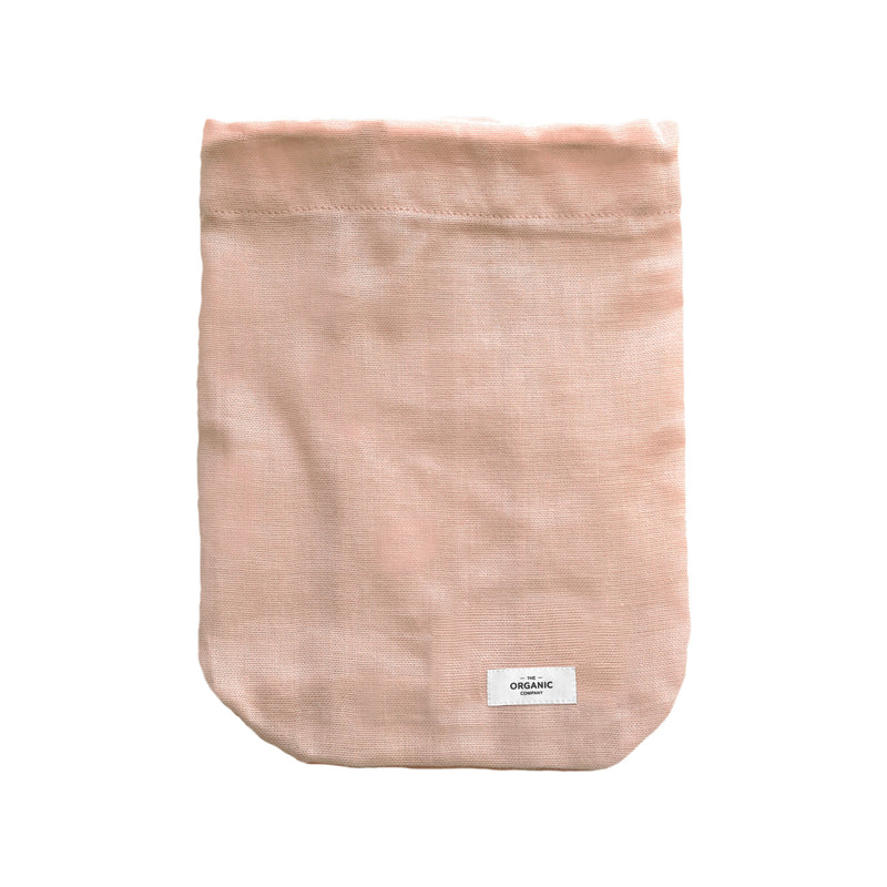 The Organic Company All Purpose Bag Large Gauze 331 Pale rose