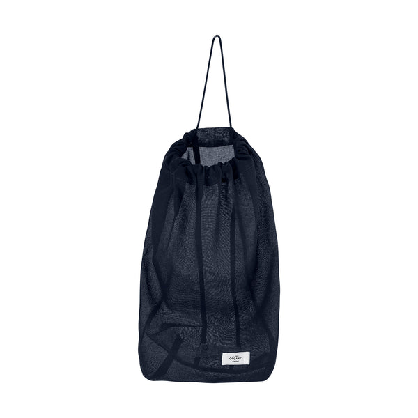 Black organic bag for various purposes