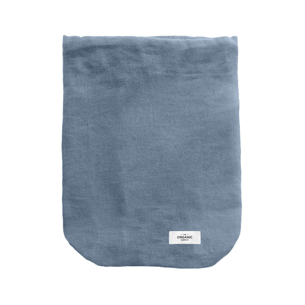 The Organic Company All Purpose Bag Large Gauze 510 Grey blue