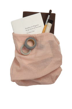 The Organic Company All Purpose Bag Medium Gauze 331 Pale rose