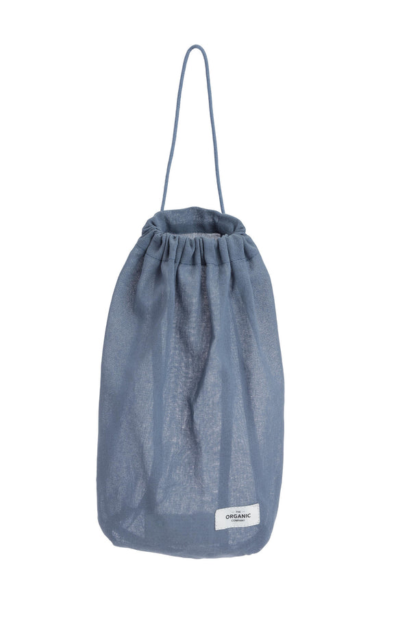 The Organic Company All Purpose Bag Medium Gauze 510 Grey blue
