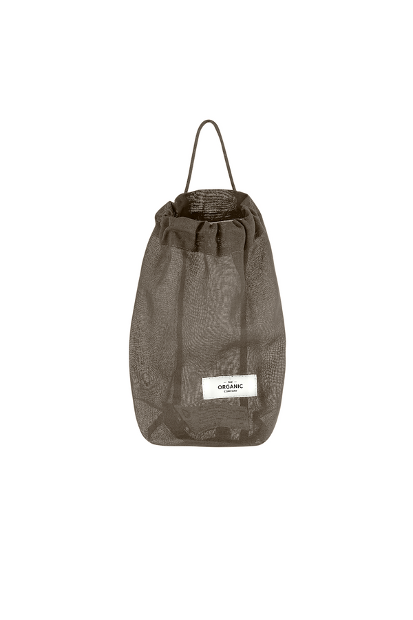 Khaki gots certified organic bag for all kinds of purposes hanging