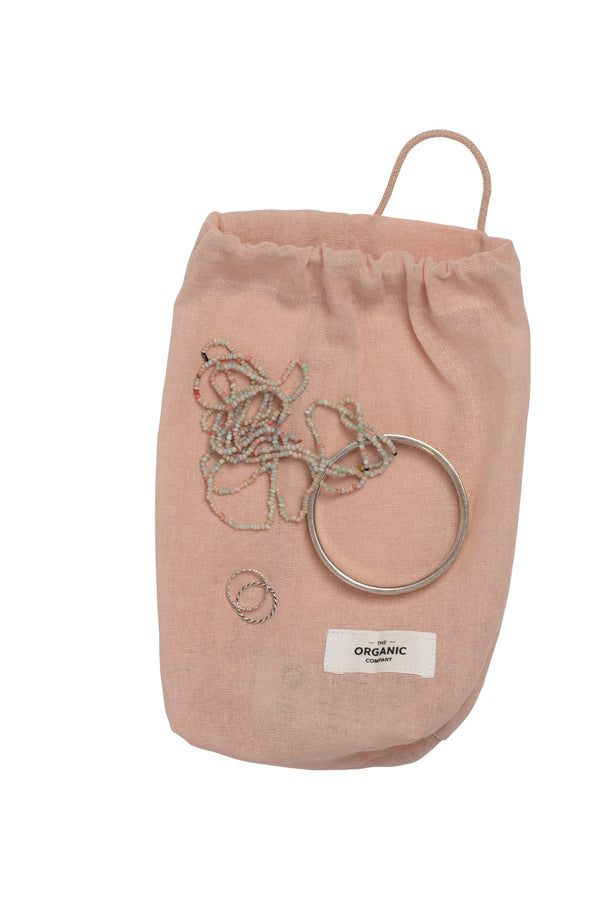 The Organic Company All Purpose Bag Small Gauze 331 Pale rose