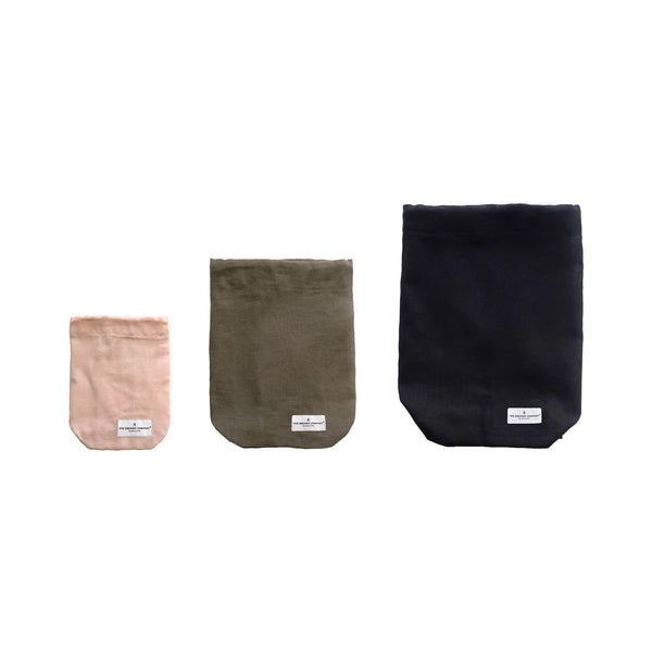 organic bag in various colors and sizes