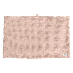 Organic rose bath mat