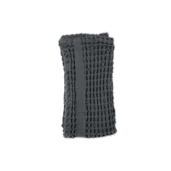 Dark grey organic towel