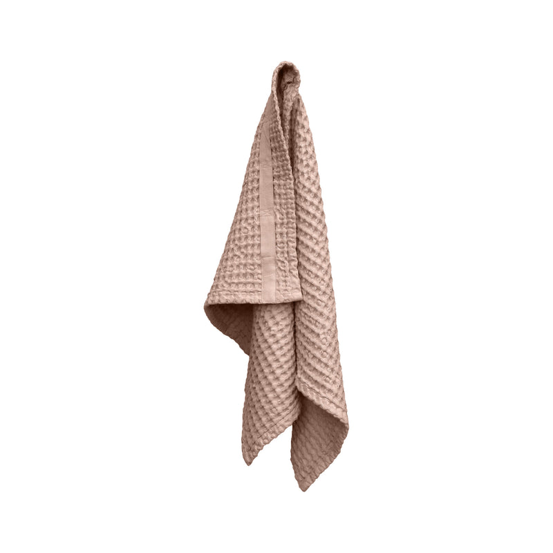 Rose organic towel hanging
