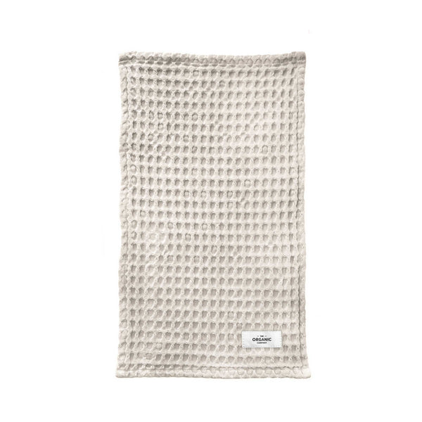 Organic wash cloth white