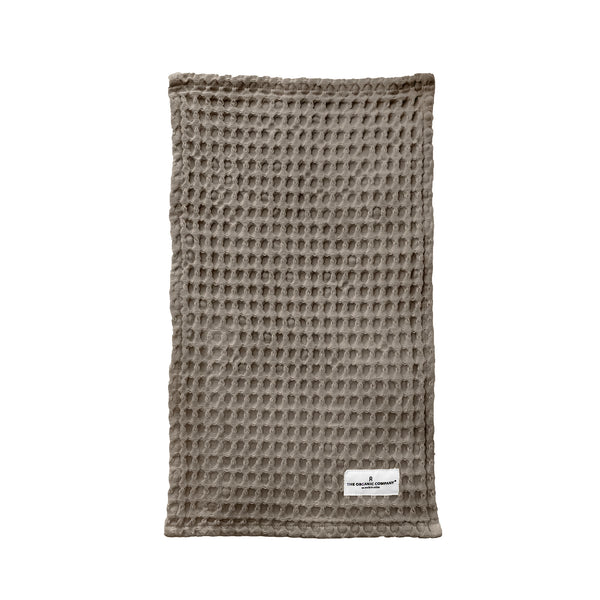 The Organic Company Big Waffle Kitchen and Wash Cloth Big Waffle 225 Clay