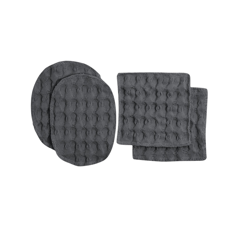 Grey reusable makeup pads