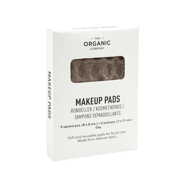Khaki gots certified organic reusable makeup pads