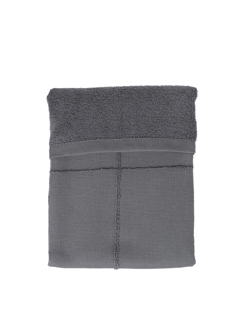 The Organic Company CALM Hand Towel TerryPlain 110 Dark grey