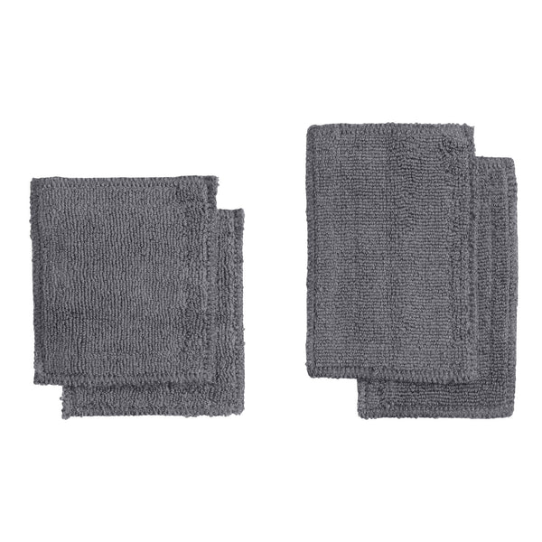The Organic Company CALM Makeup Pads TerryPlain 110 Dark grey